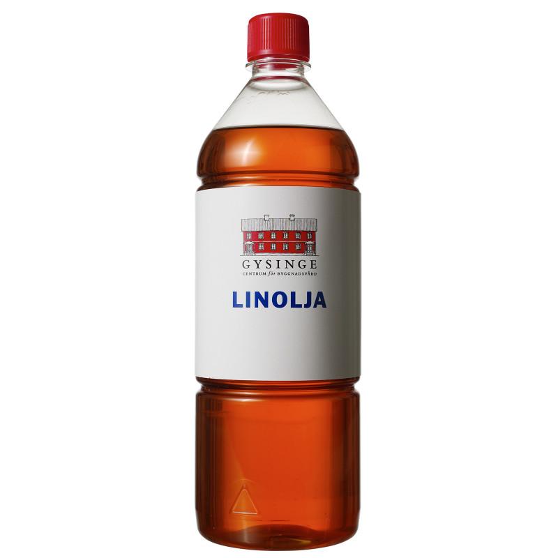 Linolja, kokt kallpressad 1 L
