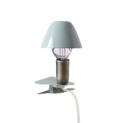 Lampa Mini På Klämma Grön